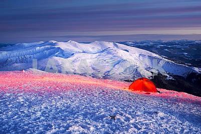 Новогодние лагеря альпинистов Украина