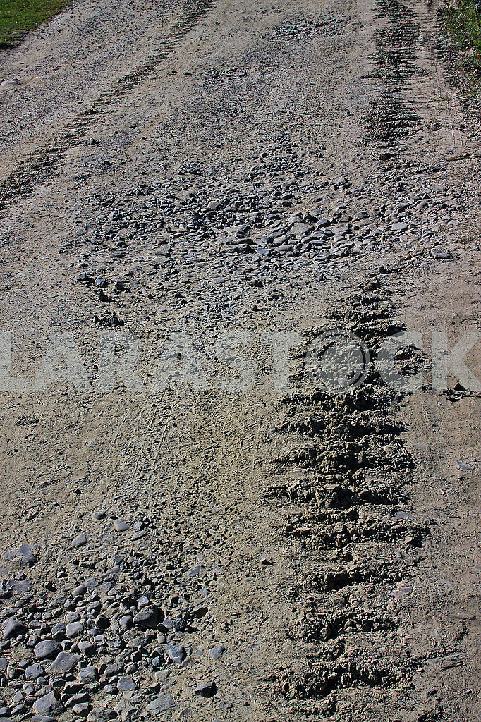 Track of a crawler tractor — Image 69212