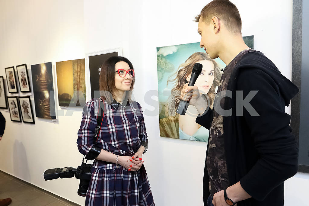 "Photo artist Julia Savenko presented the work ""The Birth of Venus"" at the Ukrainian Art Week. — Image 69292"