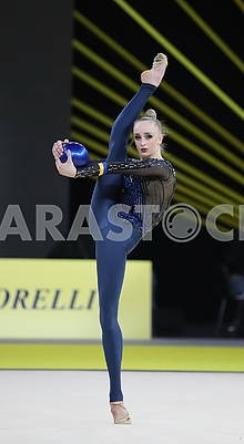 Elena Dyachenko, exercise with the ball