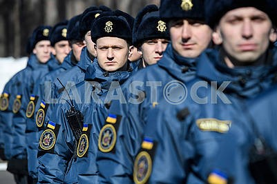 Военнослужащие национальной гвардии