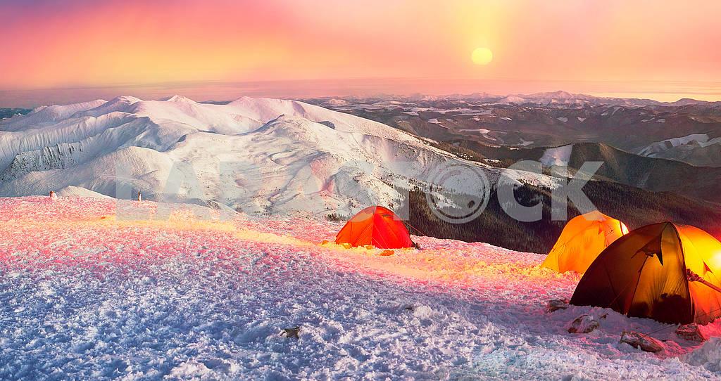 New Year camp climbers Ukraine — Image 69473