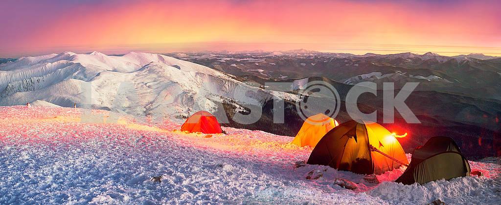 New Year camp climbers Ukraine — Image 69474