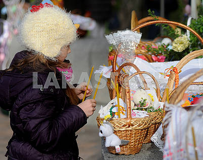 Consecration of Easter baskets