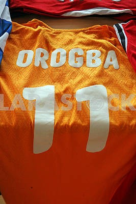 Drogba original football jersey