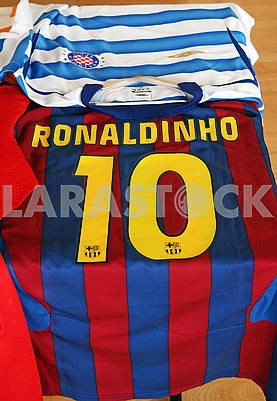 Ronaldinho original football jersey