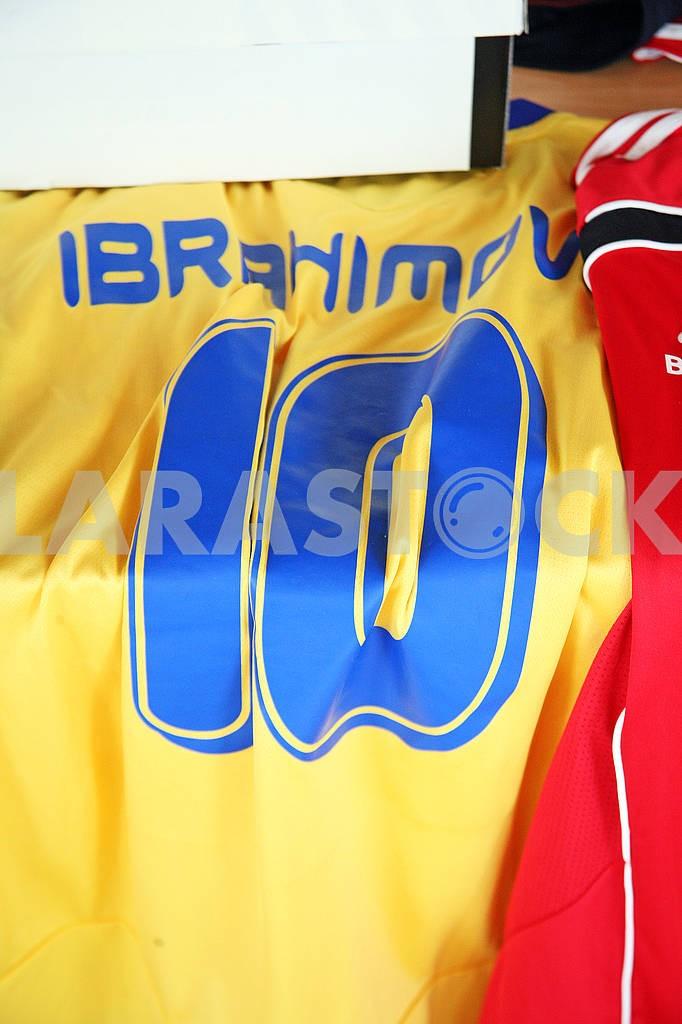 Ibrahimovic original football jersey — Image 69730