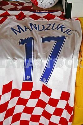 Мандзукик оригинальный футбольный трикотаж