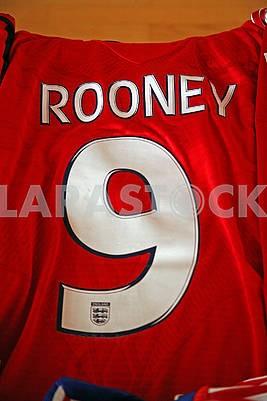 Rooney original football jersey