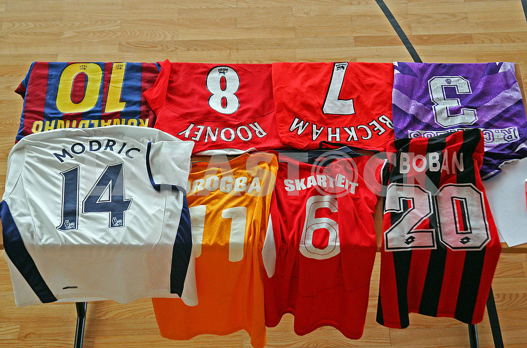 Various famous original football jerseys — Image 69743