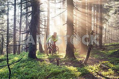 Рассветные горные велосипеды