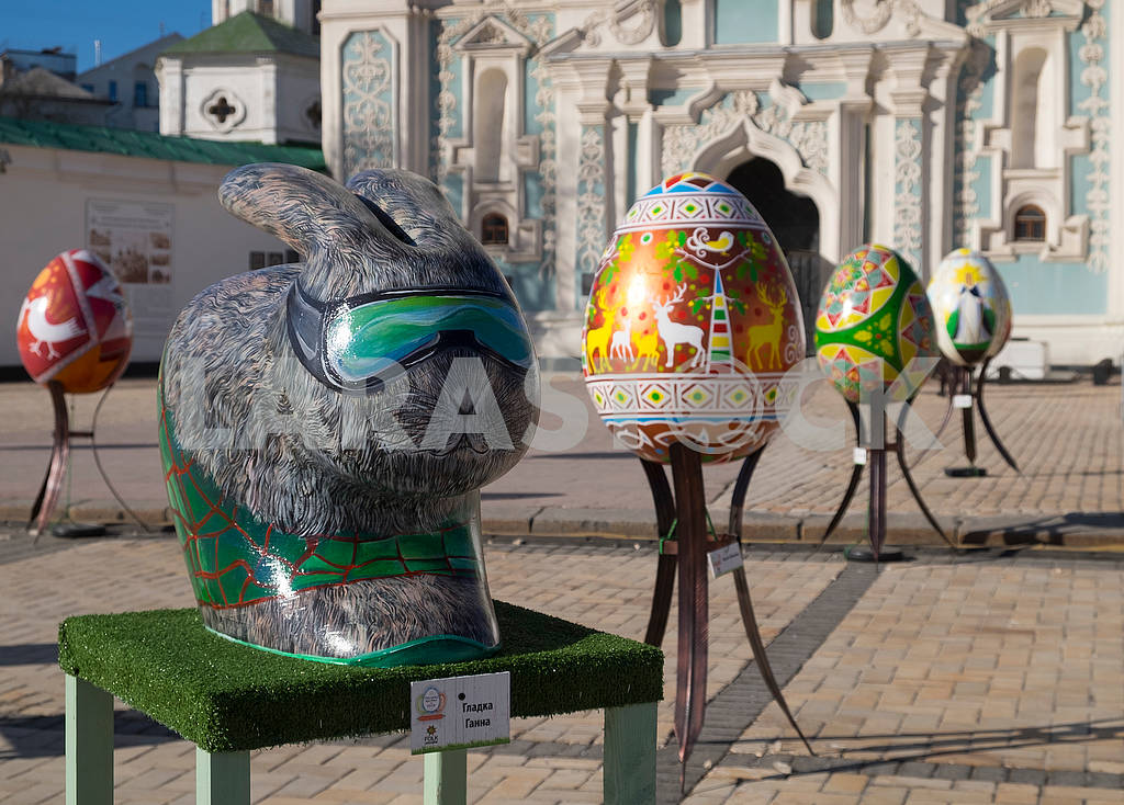 Easter hare and pysanka — Image 69878