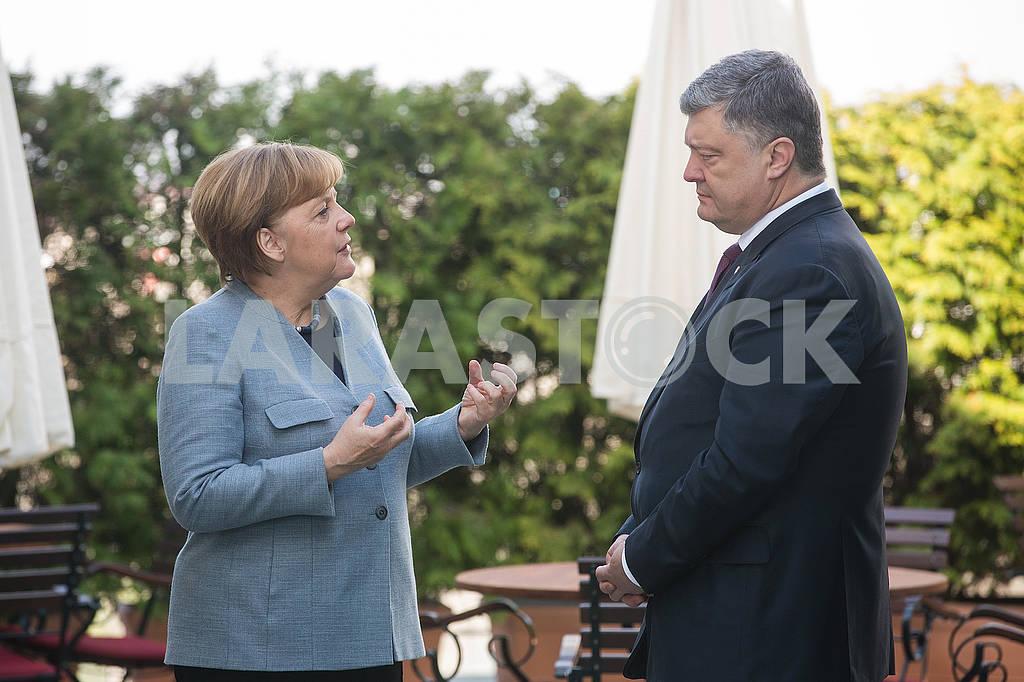 Angela Merkel, Petro Poroshenko — Image 69884
