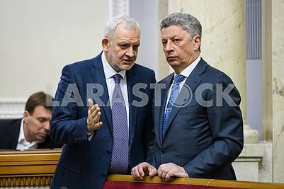 Deputies Igor Shurma, Yuri Boyko