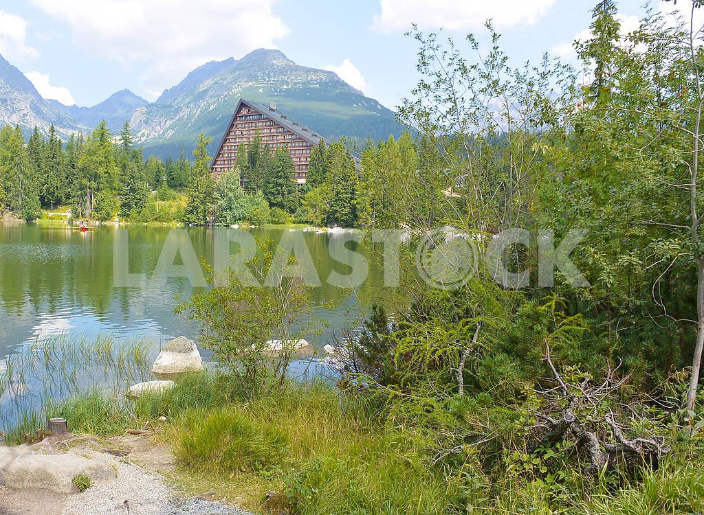 Lake Strbske pleso — Image 69945