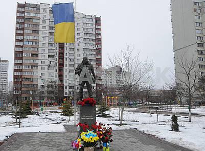 Памятник Воину-добровольцу