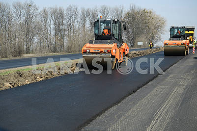 Construction of the road Kiev - Odessa