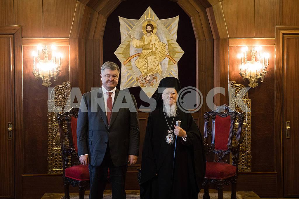 Bartholomew I and Petro Poroshenko — Image 70084
