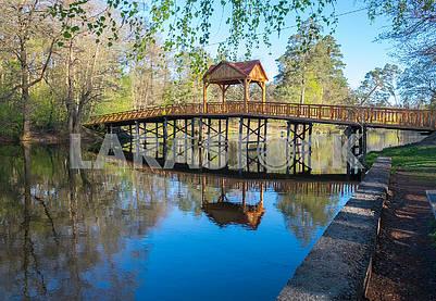 The bridge in Pushcha-Vodice