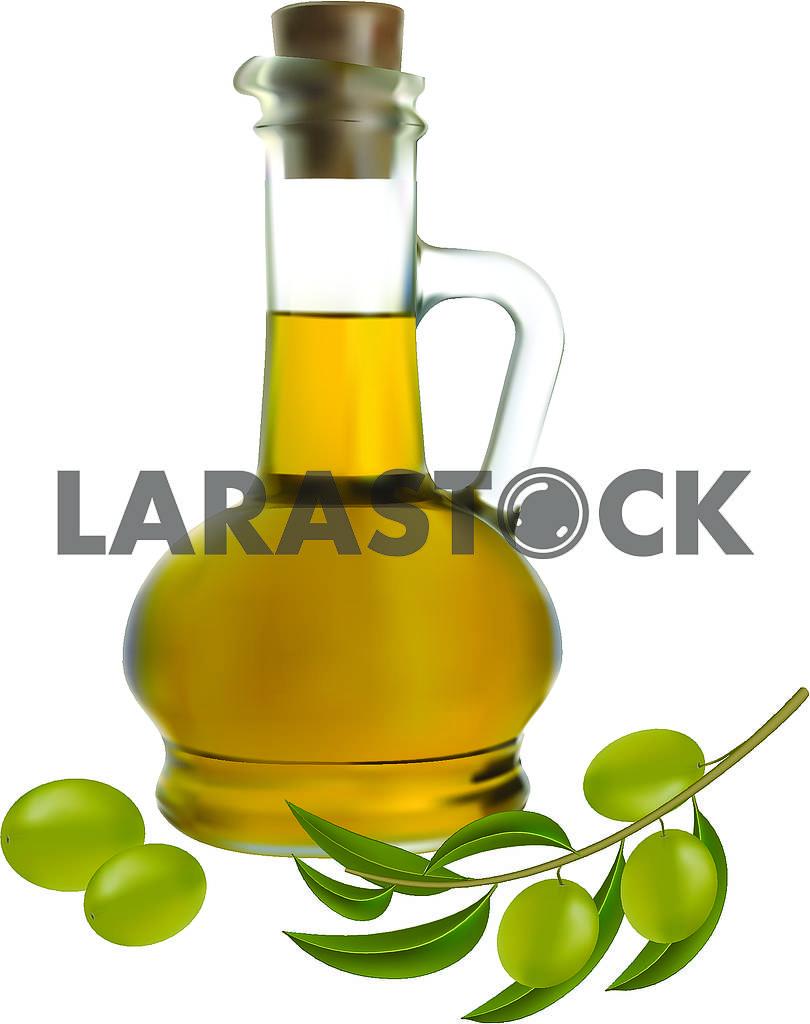 Оливковое масло и оливки — Изображение 70211