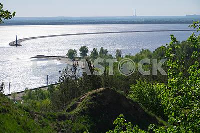 Water intake of Kiev HPP