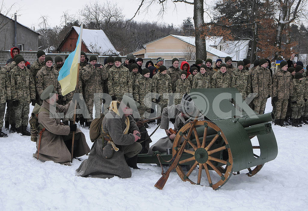 Historical reconstruction of the combat of the troops of the UPR against the Bolsheviks for Boyarka — Image 70395