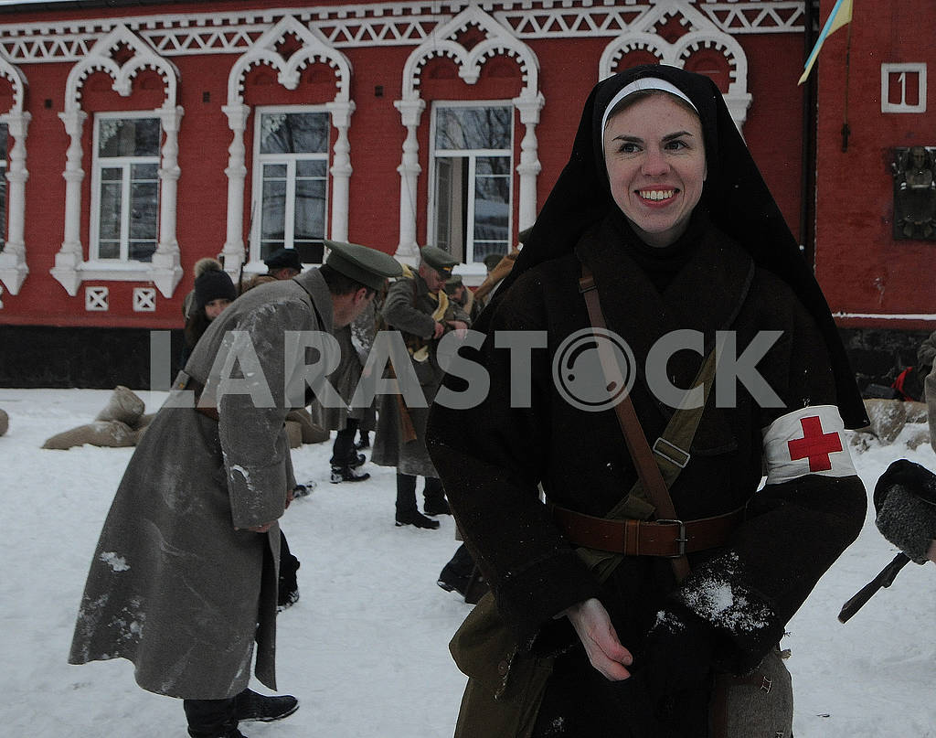 Historical reconstruction of the combat of the troops of the UPR against the Bolsheviks for Boyarka — Image 70400