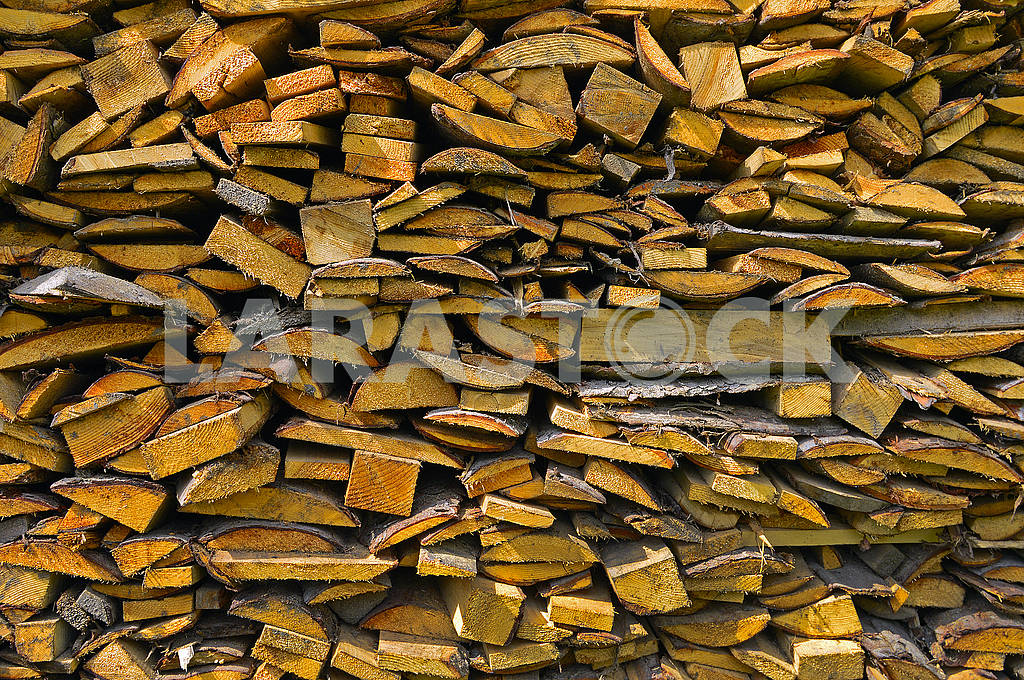 Pile of wooden bars — Image 70420