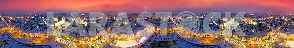 Snowy Christmas Lviv — Image 70446