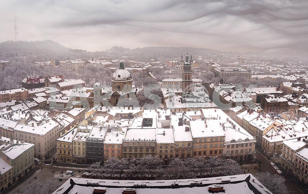 Snowy Christmas Lviv — Image 70447