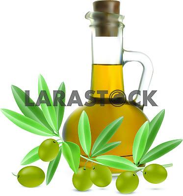 Кувшин с оливковым маслом