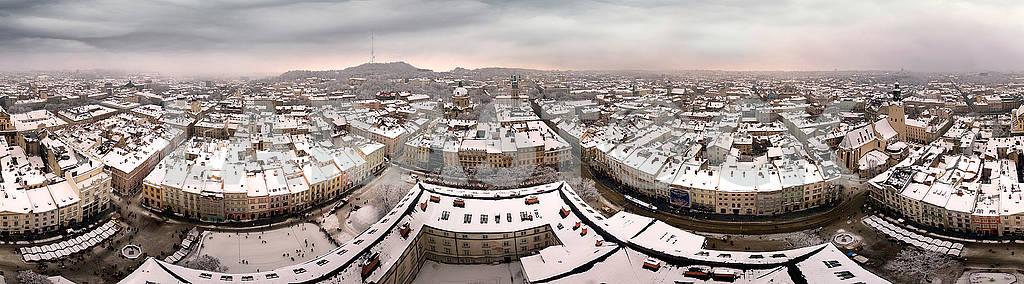 Snowy Christmas Lviv