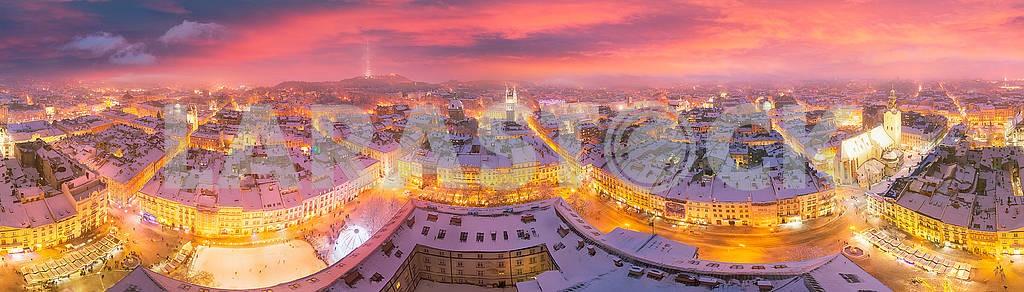 Snowy Christmas Lviv — Image 70496