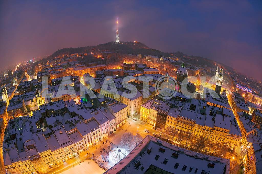 Snowy Christmas Lviv — Image 70513