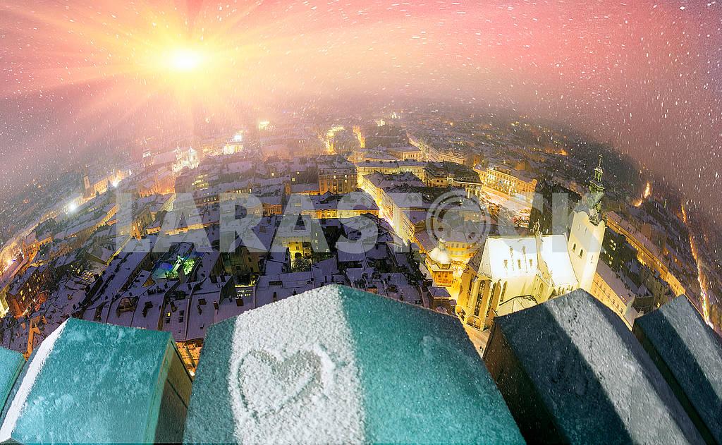 Snowy Christmas Lviv — Image 70516