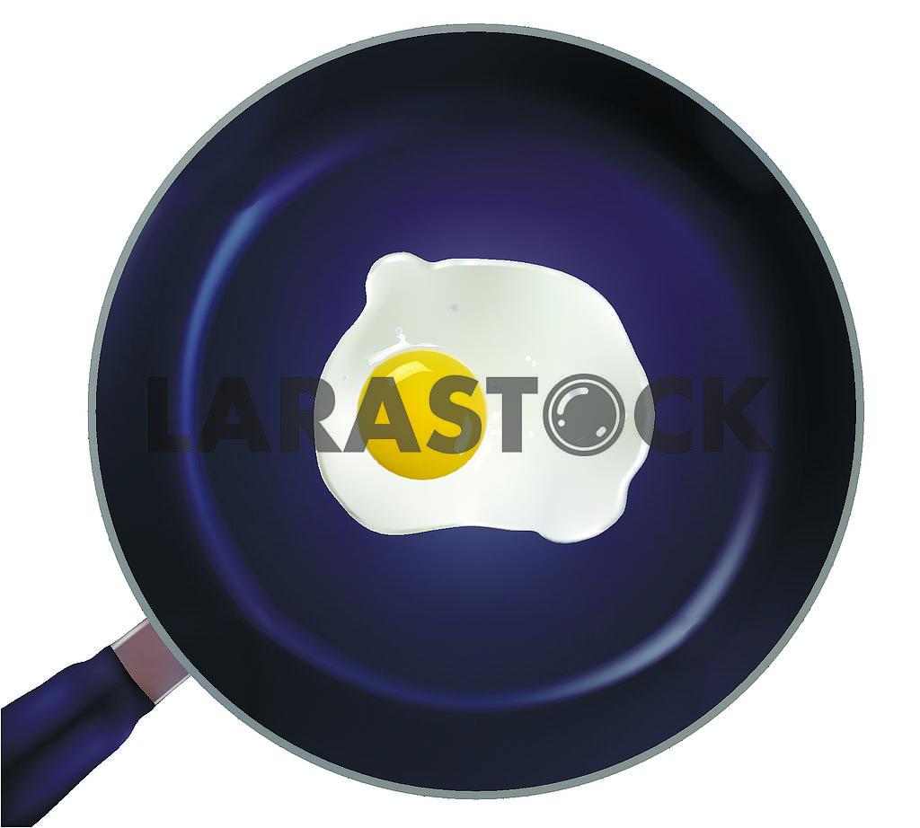 Яичница на сковороде — Изображение 70573