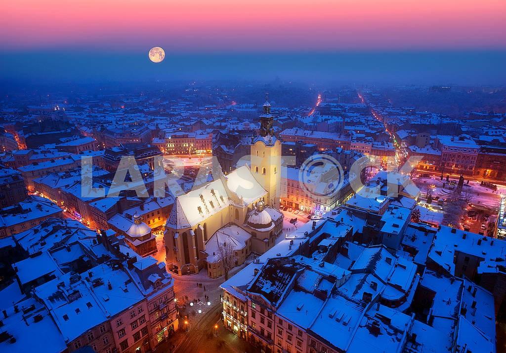 Snowy Christmas Lviv — Image 70574