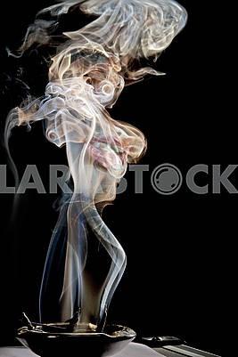 фото красочного дыма