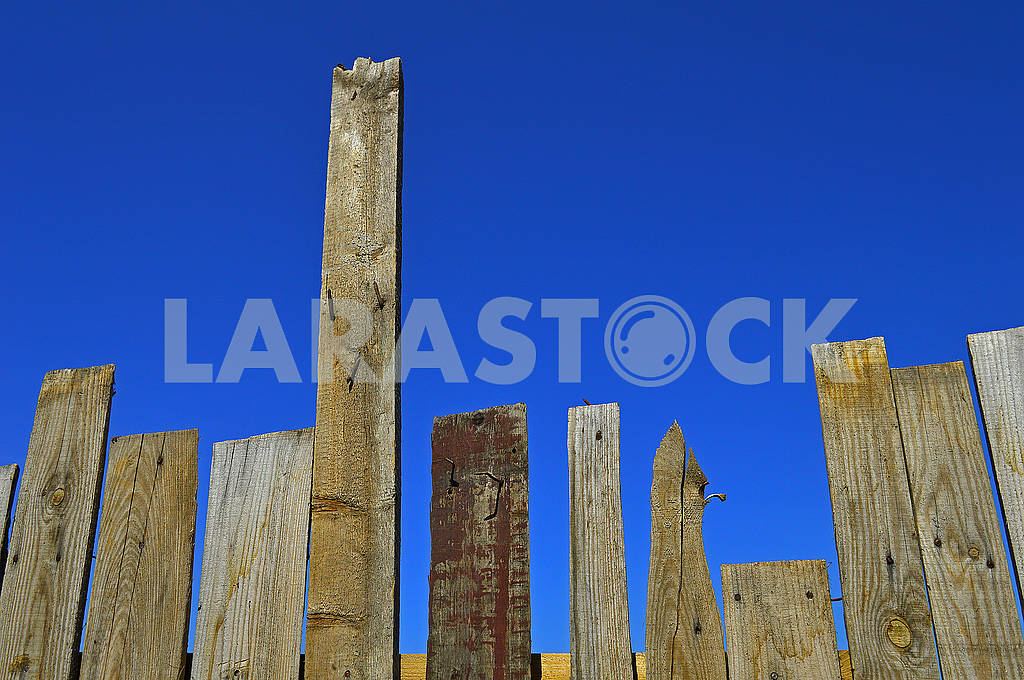 An old fence from the boards — Image 70632
