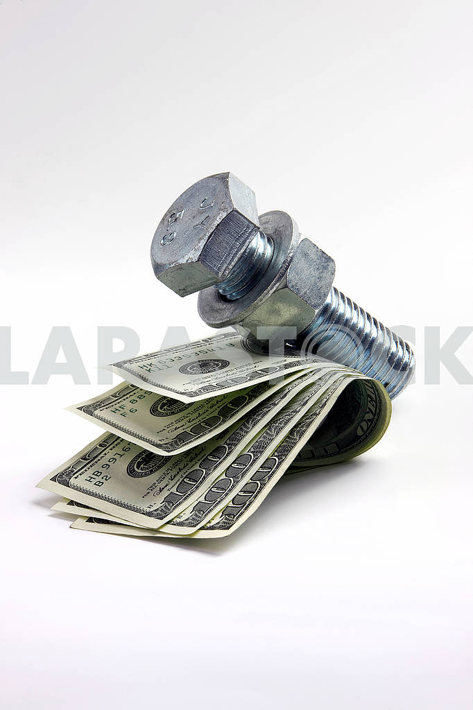 Dollars on a white background — Image 70634