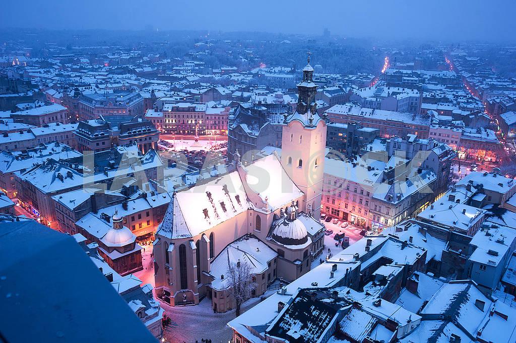 Snowy Christmas Lviv — Image 70657