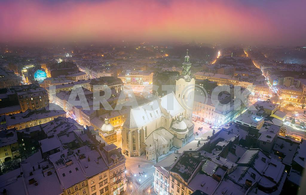 Snowy Christmas Lviv — Image 70658