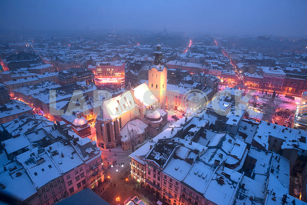 Snowy Christmas Lviv — Image 70661