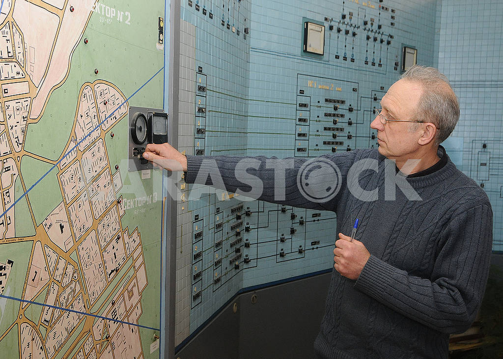 Dispatcher at Desnyansk Waterworks — Image 70683