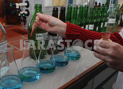 The work of the chemical-bacteriological laboratory