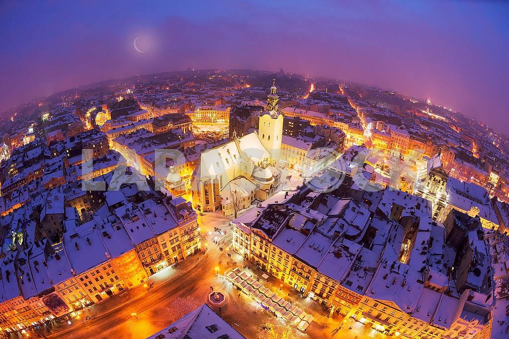 Snowy Christmas Lviv — Image 70756