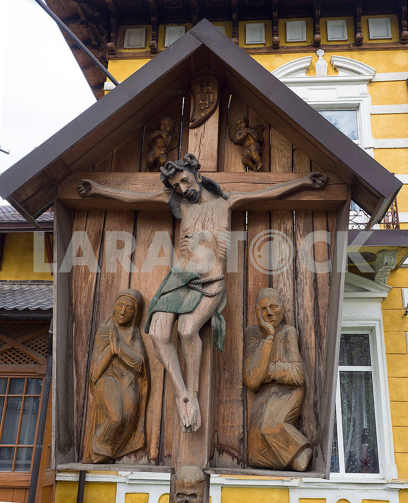 Wooden sculpture Crucifix — Image 70835
