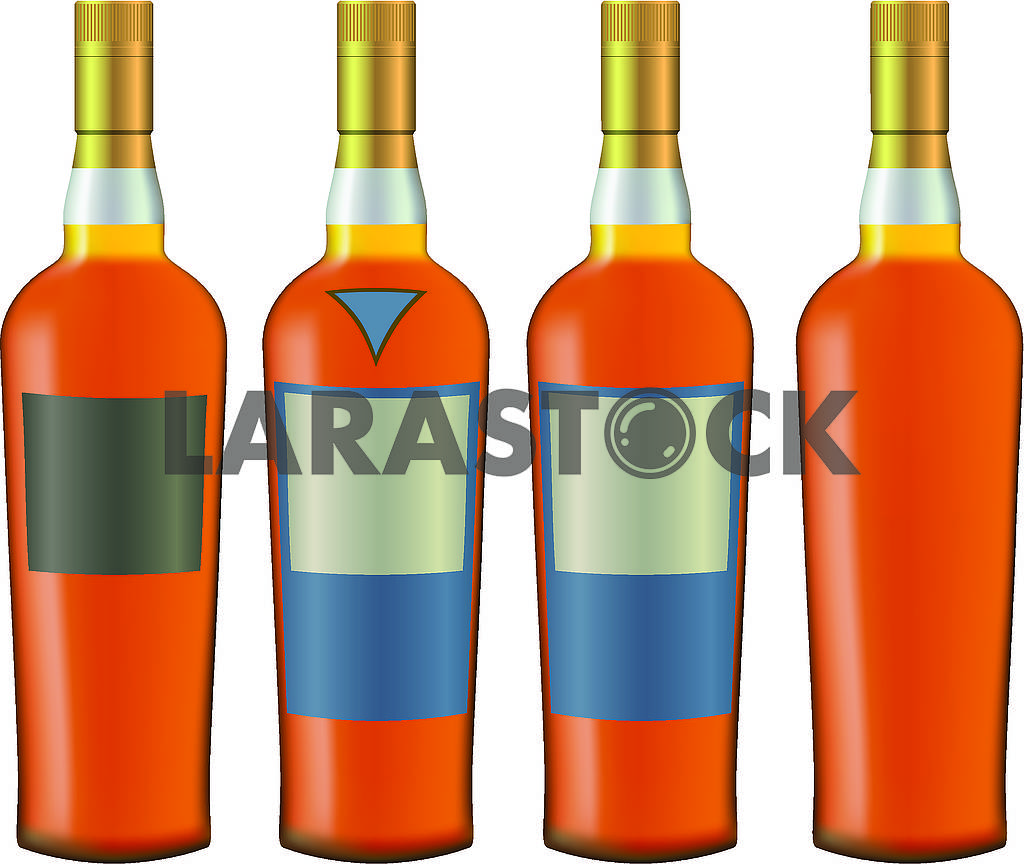 Bottles with cognac — Image 70871