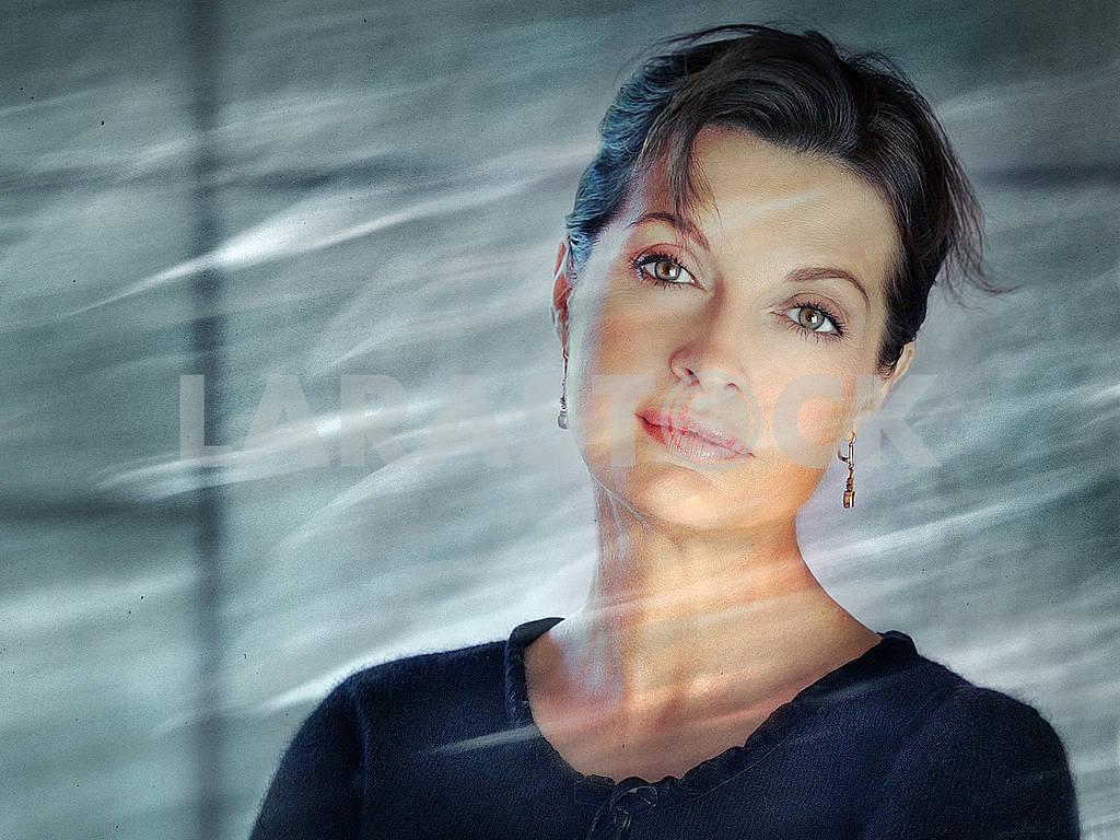 Portrait of the poet Alla Kostrykina — Image 70906