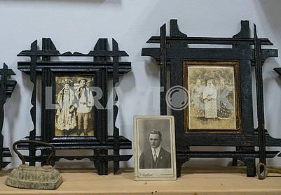 Фотографии гуцулов в рамке